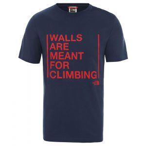 Tricou The North Face M Walls Are For Climbing