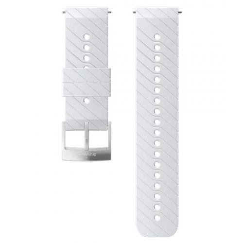 Curea Ceas Suunto 24mm Athletic 3, silicon, alb/steel M